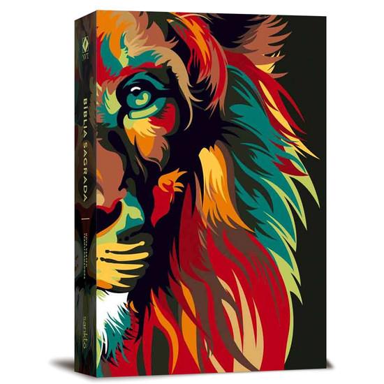 Bíblia NVT Lion Colors - Nature