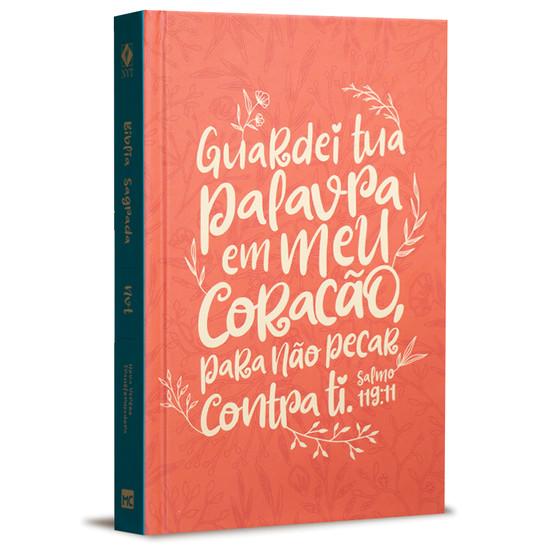 Bíblia NVT - Salmo 119:11