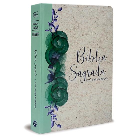 Bíblia Sagrada RC Gigante (Capa Especial Reciclato Floral)