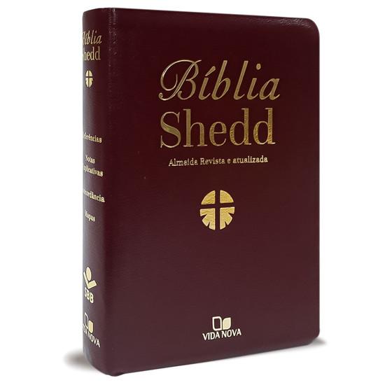 Bíblia Shedd (Bordo)