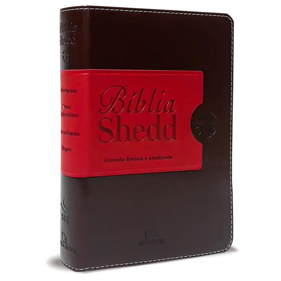 Bíblia Shedd (Café e Vermelho)