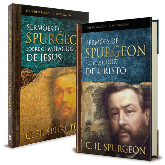 Combo 2 Livros Sermões de Charles Spurgeon