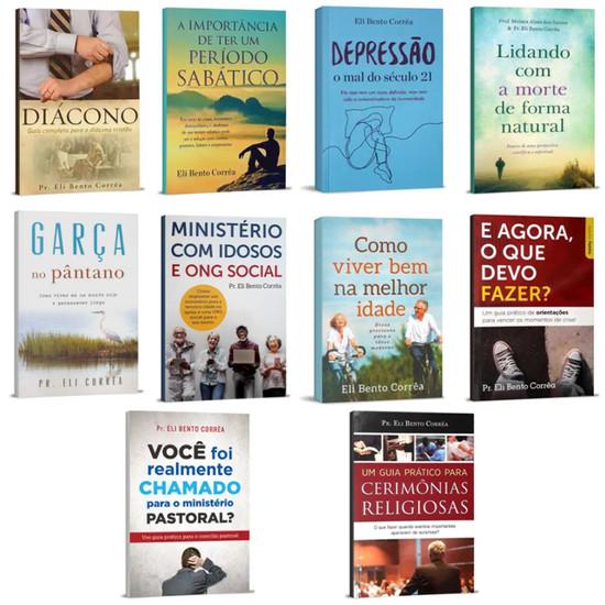Coleção 10 Livros - Ministério Pastoral e Aconselhamento