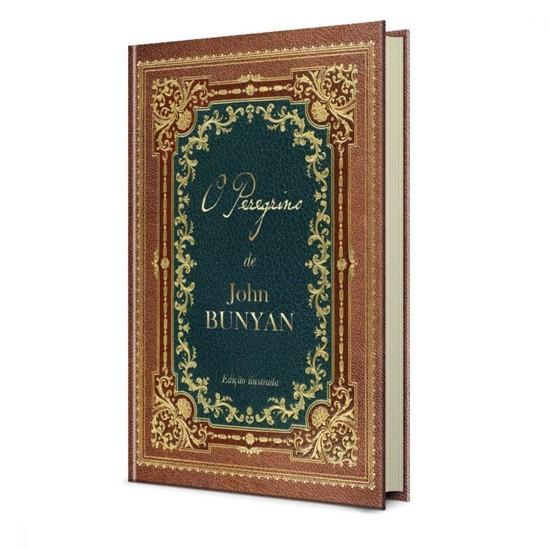 O Peregrino - Edição Colorida e Ilustrada - John Bunyan (Capa Dura)