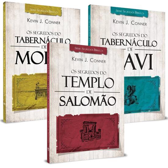 Combo 3 Livros - Série Os Segredos dos Tabernáculos e Templo