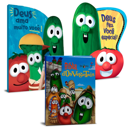 Combo 3 Livros - Os Vegetais