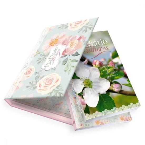 Box Pão Diário Mulheres (Devocional + diário + linda caixa)