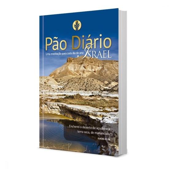 Pão Diário Ano 2021 - Vol. 24 (capa Israel)