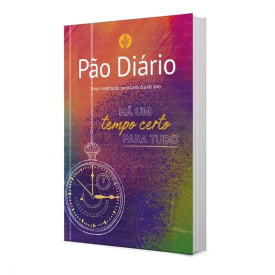Pão Diário Ano 2021 - Vol. 24 (capa Tempo Certo)