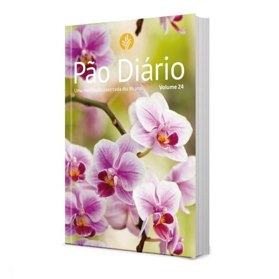 Pão Diário Ano 2021 - Vol. 24 (capa Flores)
