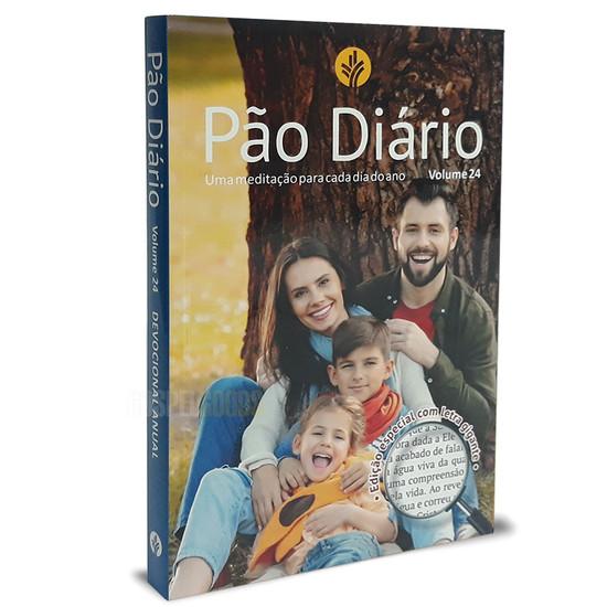 Pão Diário Ano 2021 Letra Gigante - Vol. 24 (capa Família)