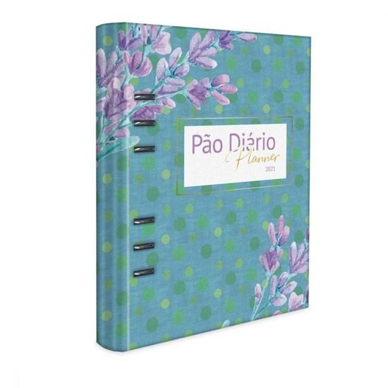 Pão Diário - Planner 2021 Azul - Pão Diário