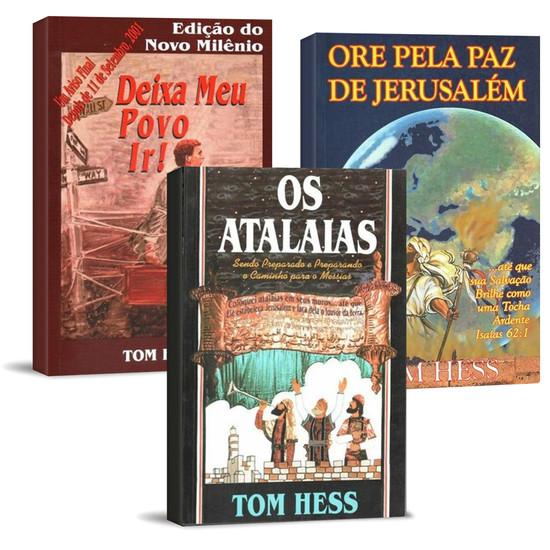Combo 3 Livros - Tom Hess