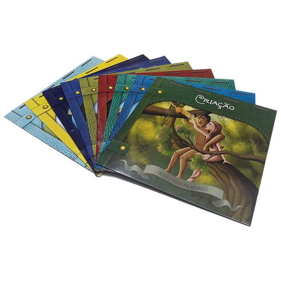 Coleção 10 Livros Infantis -  Clássicos Bíblicos