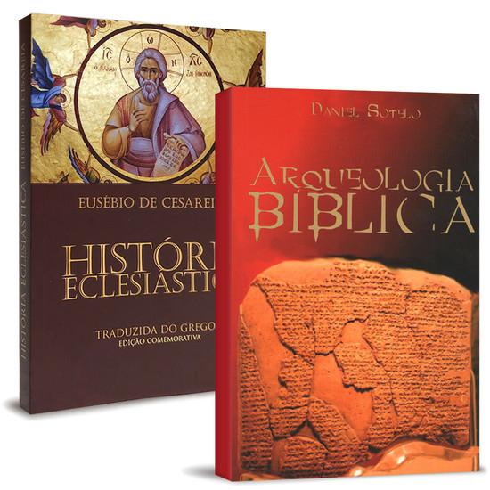 Combo 2 Livros - História e Arqueologia