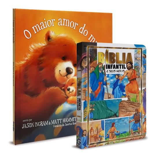 Combo 2 Livros Infantis