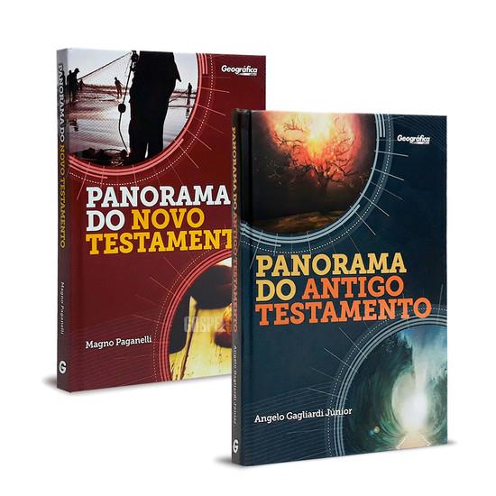 Combo 2 Livros - Panorama do Antigo e do Novo Testamento