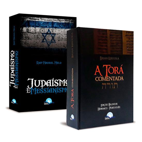 Combo 2 Livros - Torá Judaísmo e Messianismo