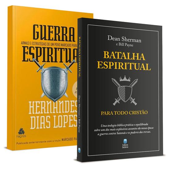 Combo 2 Livros - Batalha Espiritual