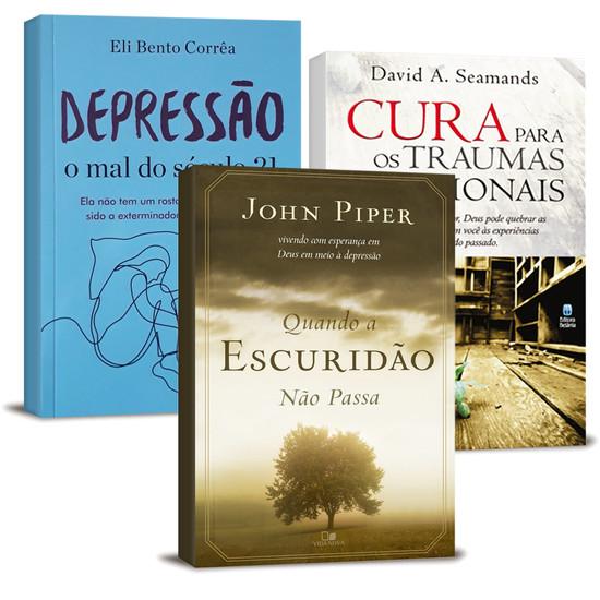 Combo 3 Livros - O Cristão e a Depressão