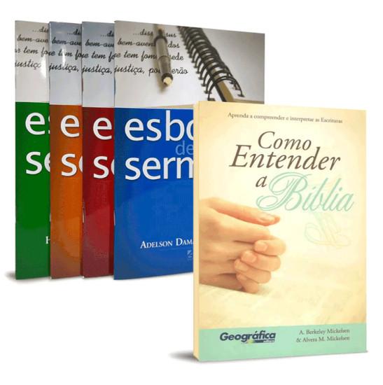 Combo 5 Livros - Interpretação e Pregação