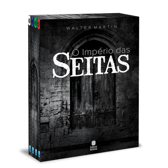 Box O Império das Seitas - Volume 1 a 4 - Walter Martin