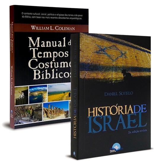 Combo 2 Livros - História e Cultura