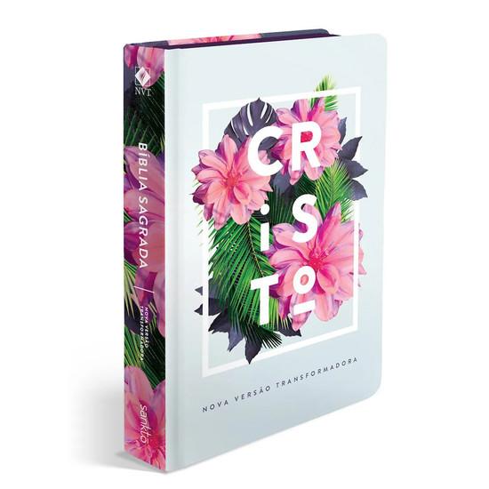 Bíblia NVT  - Flores Tropicais Cristo