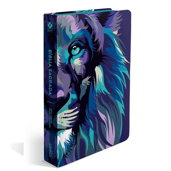Bíblia NVT  Lion Colors Cool