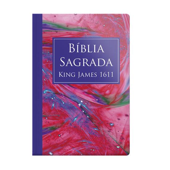 Bíblia King James 1611 (Capa especial Marmorizada)