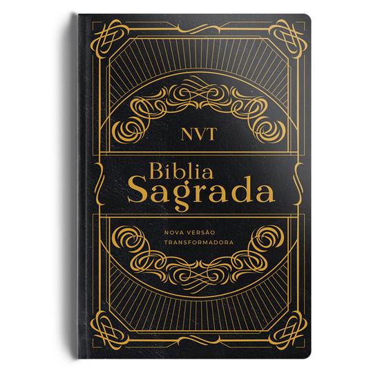 Biblia NVT (Semi luxo preta)