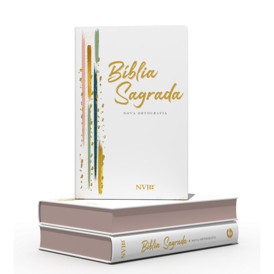 Bíblia NVI Gigante (Semi luxo - Listras)