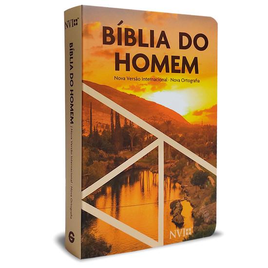 Bíblia do Homem NVI - Pôr do Sol