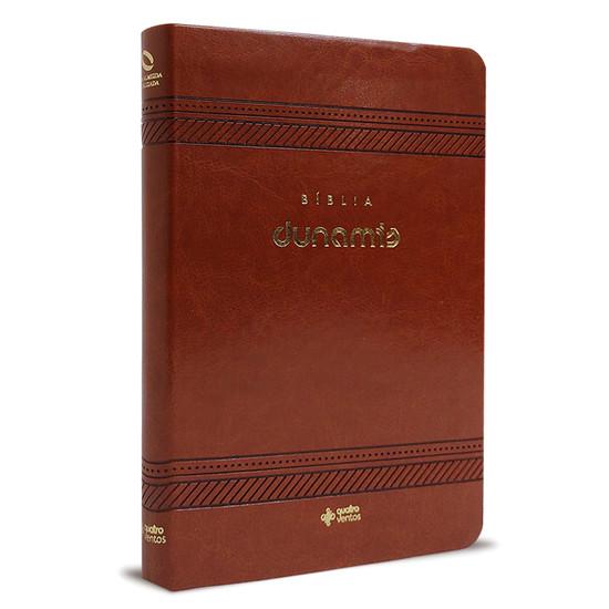 Bíblia Dunamis (Clássica - Luxo Marrom)