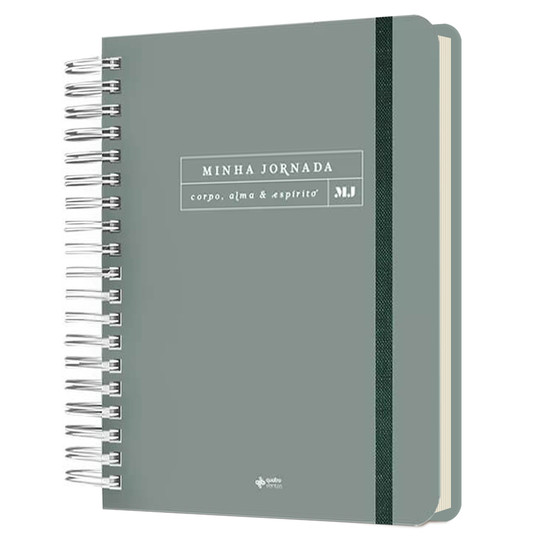 Planner Minha Jornada - Capa Minimalista