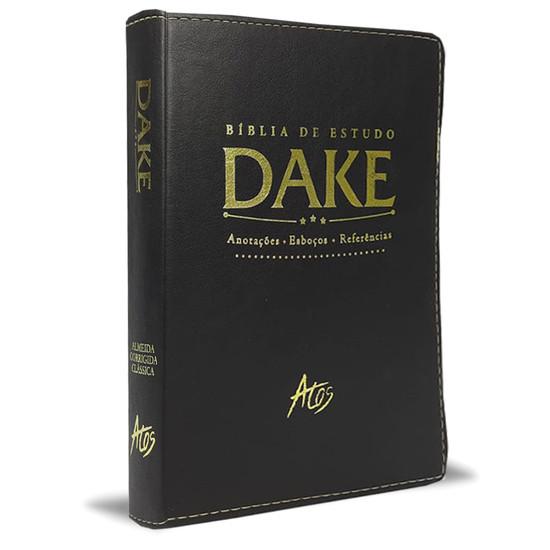 Bíblia de Estudo Dake (Luxo Preto)