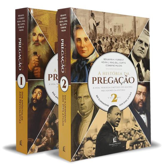 Combo História da Pregação Vol 1 + Vol 2