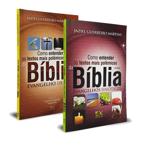 Combo 2 livros - Como Entender Os Textos Mais Polêmicos Da Bíblia