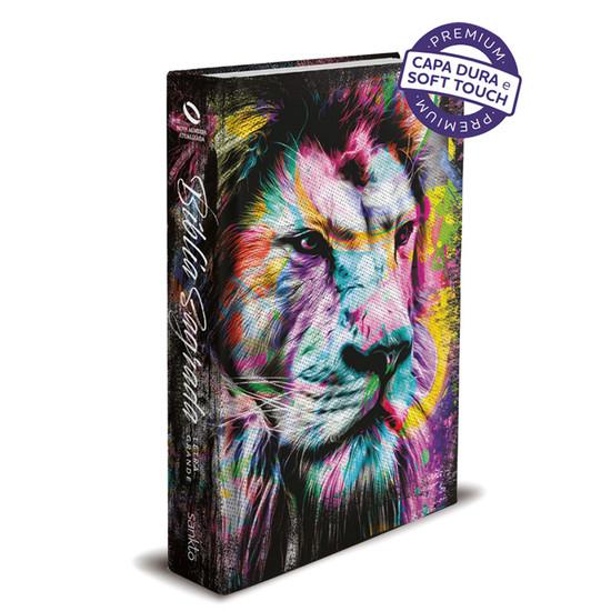 Bíblia Sagrada NAA - Leão Colorido - Letra Grande