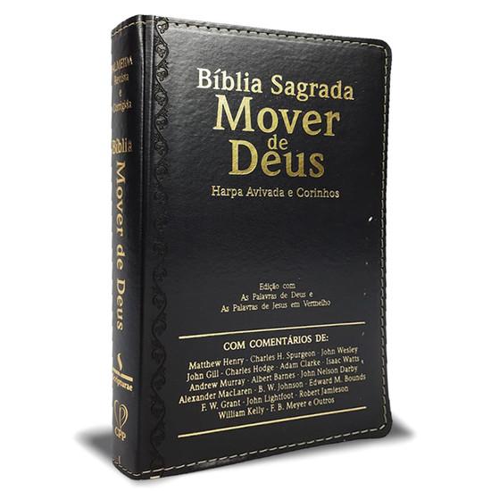 Bíblia Sagrada Mover de Deus - Letra Ultragigante (Preta)