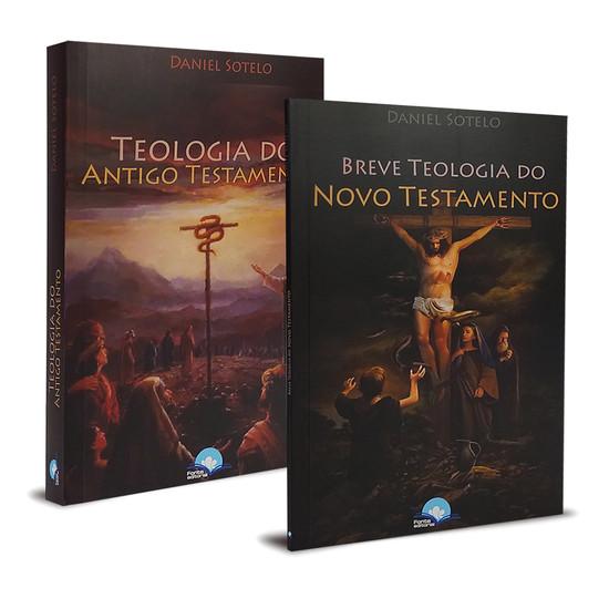 Combo 2 Livros - Teologia do  Antigo e Novo Testamento - Daniel Sotelo