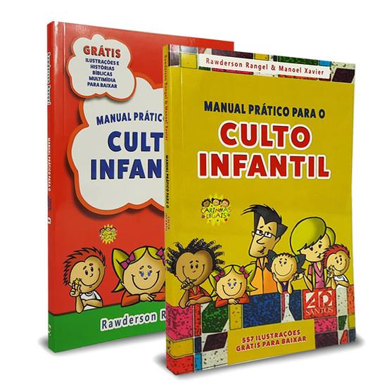 Combo 2 livros - Manual Prático para o Culto Infantil - Vol. 1 e Vol. 2