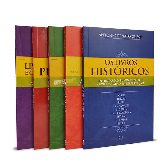 Coleção Antigo Testamento (5 livros) - Introdução aos Livros e Auxílios para a Interpretação
