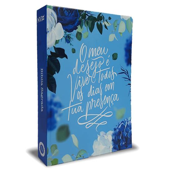 Bíblia Sagrada NVI - O Meu Desejo (Azul)