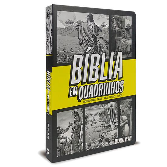 Bíblia em quadrinhos (capa Amarela)