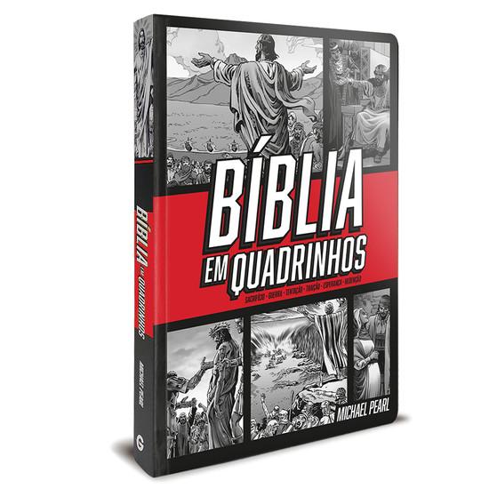 Bíblia em quadrinhos (capa Vermelha)