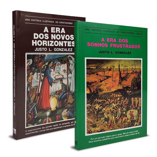 Combo 2 Livros - Uma história ilustrada do Cristianismo