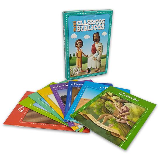 Mini Clássicos da Bíblia (8 livrinhos)