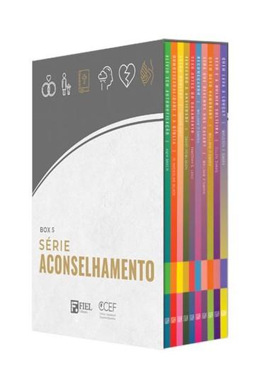 Série Aconselhamento - Box 5 (38 ao 47)