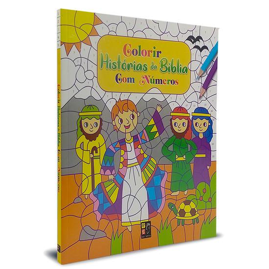 Colorir Historias da Bíblia com números